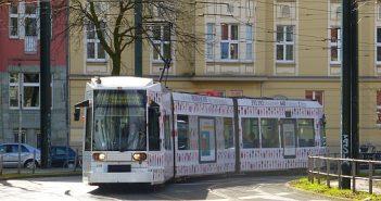 Schöne Kurven mit der Straßenbahn (eigenes Foto)