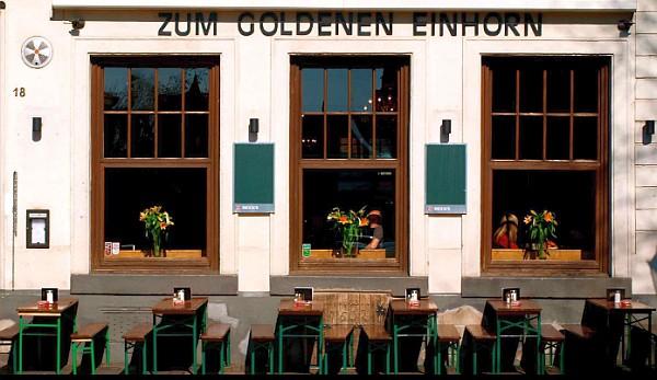 Ratinger Straße in den 70ern: Einhorn, Zweihorn, Dreihorn...
