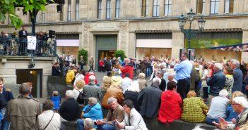 Traditional Jazz im Carschhaus-Pavillon - die Menschen lieben es