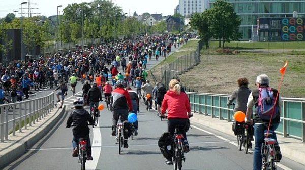 Ein Wochenende rund ums Fahrrad: die Sternfahrt