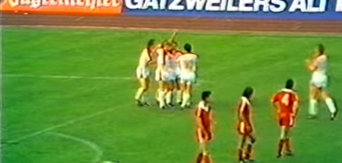 DFB-Pokalendspiel 1980: F95 vs Äff-Zeh 2:1