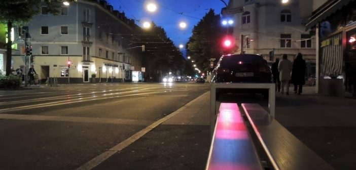 Bild der KW18: Duisburger Straße nachts