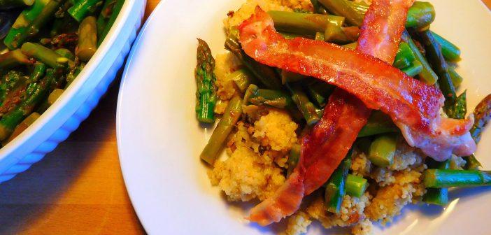 Rezept der Woche: Graupenrisotto mit grünem Spargel