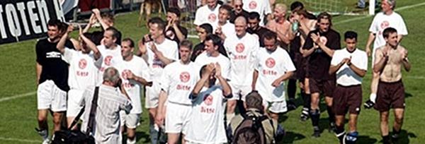 Mythos Fortuna 2003: Der schönste Vatertag aller Zeiten