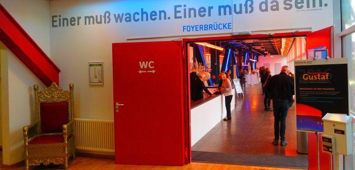 Düsseldorfer Schauspielhaus im Central - das Foyer