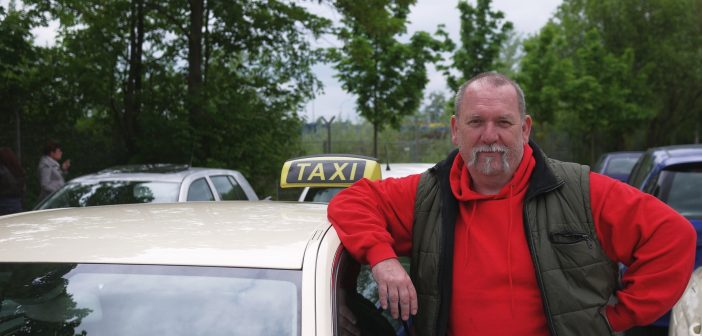 Ingo Krannich, Taxifahrer