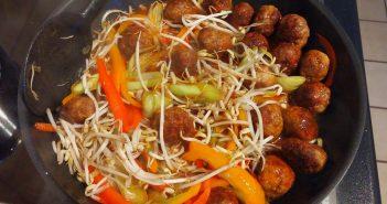 Fleischbällchen süß-sauer wie beim Chinesen