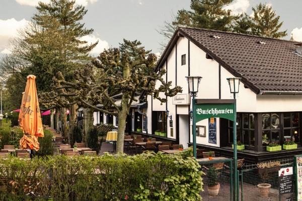 Restaurant Buschhausen am Aaper Wald - ein uriger Biergarten
