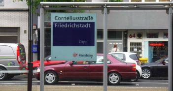 Corneliusstraße - die Giftmeile der Stadt