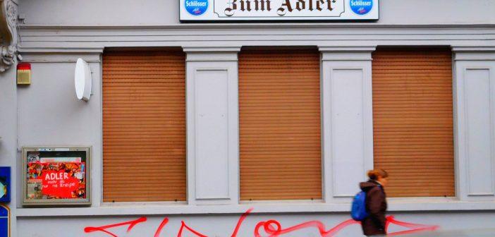 Stammkneipe statt Eckkneipe: Zum Adler in Gerresheim