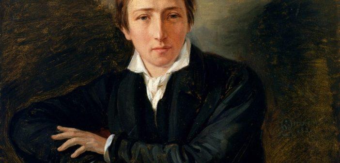 Heinrich Heine (Ausschnitt aus dem Gemälde von Oppenheim)