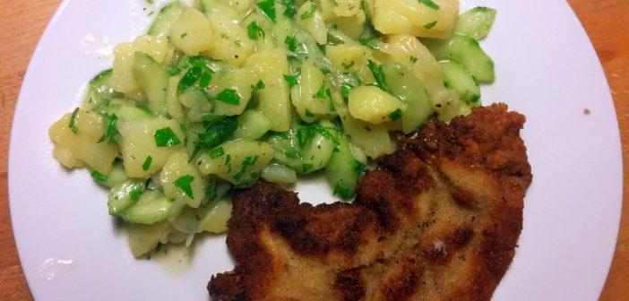 RdW: Kartoffelgurkensalat und Wienerschnitzel