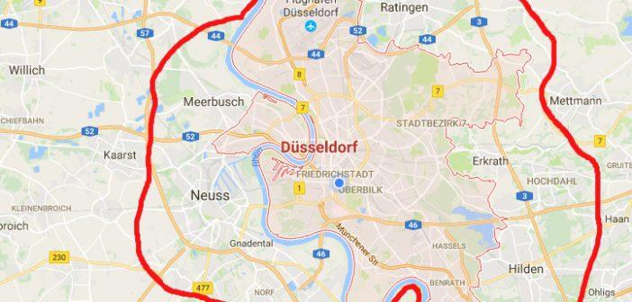 Düsseldorf, die Millionenstadt - ab 2022