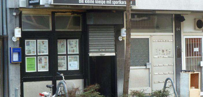 März 2012: Kleiner Rebell auf der Corneliusstraße