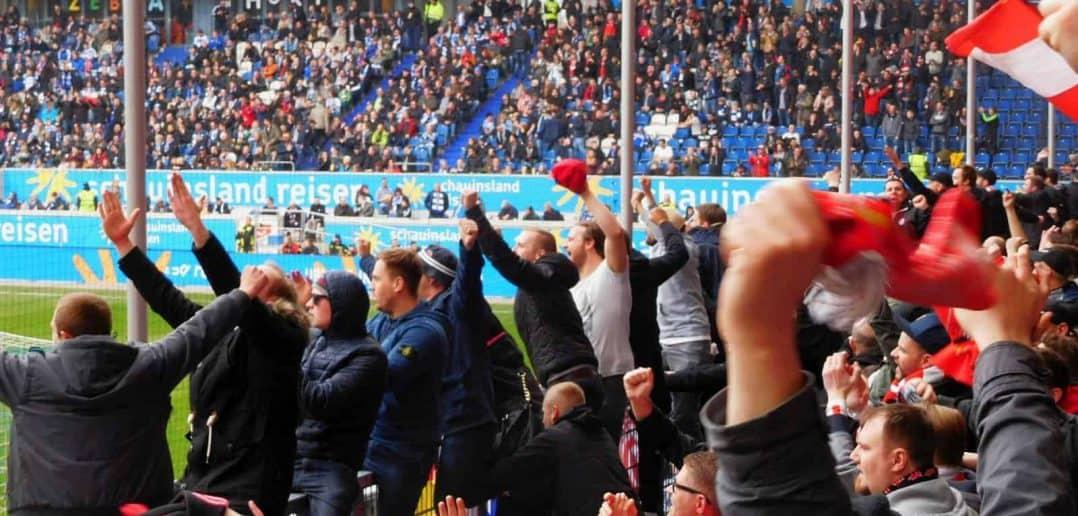 MSV vs F95 - Düsseldorfer Siegesjubel