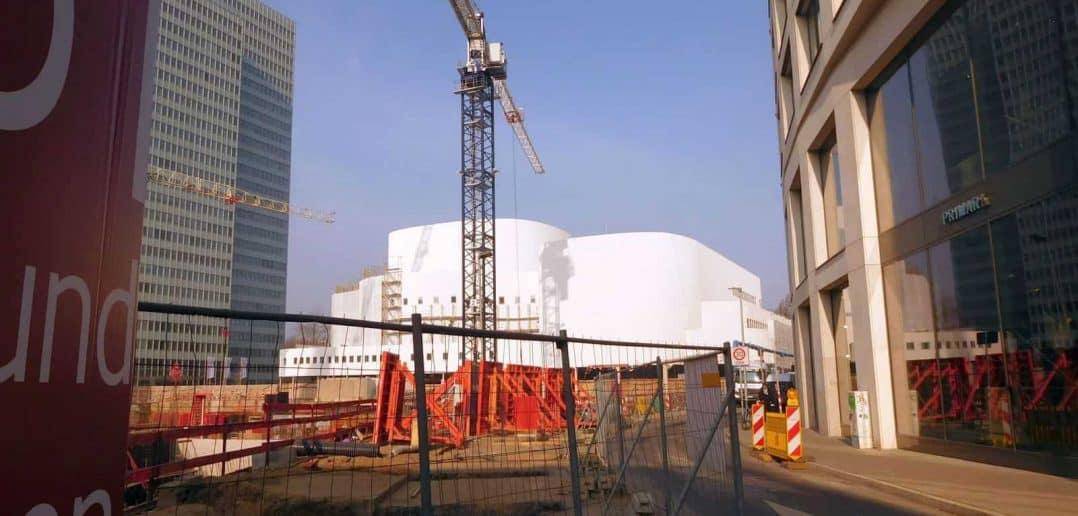 Schauspielhaus, Baustelle