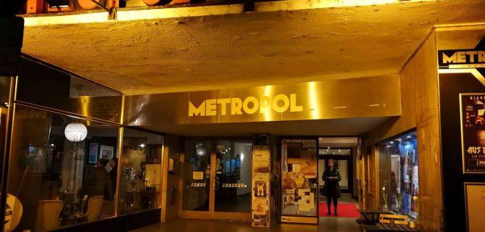 Klassisch schön: Eingang zum Metropol-Kino an der Brunnenstraße