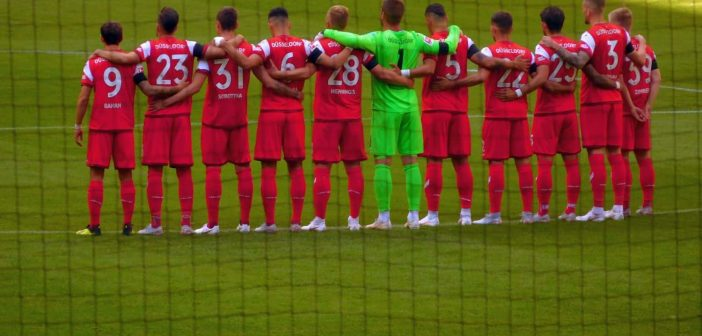 F95 vs Augsburg - Die Mannschaft