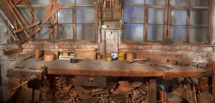 In der Schreinerwerkstatt (Symbolfoto)