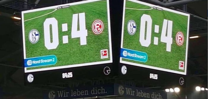 Schalke vs F95: Null-Vier