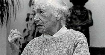 Hulda Pankok im Alter