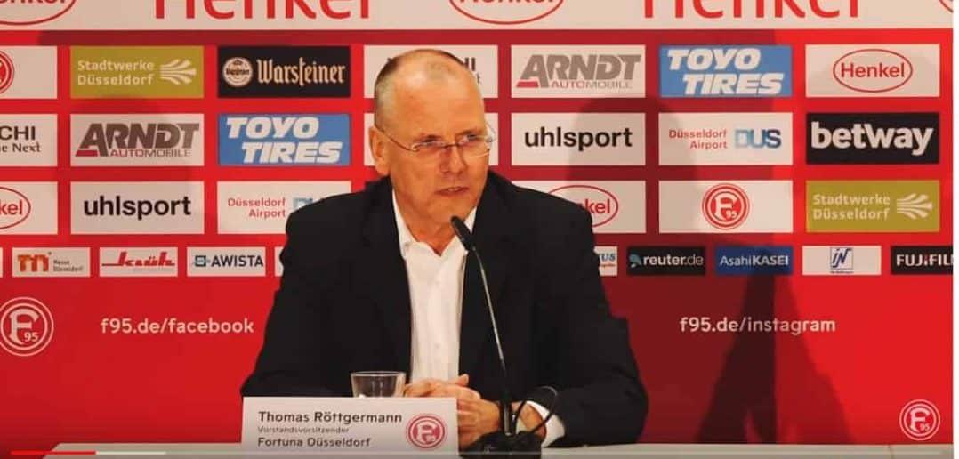 Thomas Röttgermann erklärt, warum er die Fortuna so toll findet