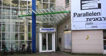 Der Eingang zum Stadtmuseum an der Berger Allee