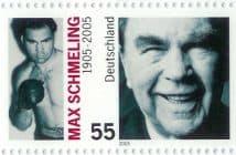 Die Max-Schmeling-Briefmarke