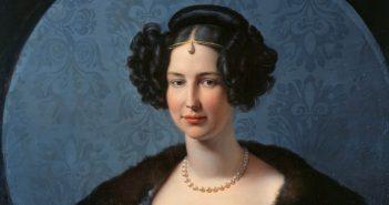 Prinzessin Luise von Anhalt-Bernburg und Preußen - gemalt von Friedrich von Schadow