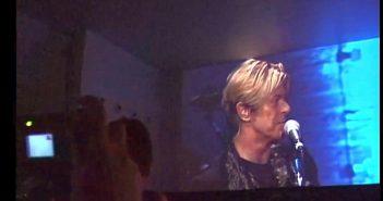 David Bowie im 3001 (so gut wie live)