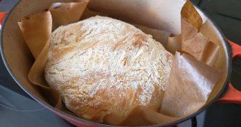 RdW: Ciabatta - am besten im gusseisernen Topf gebacken