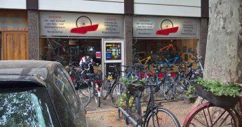 Viel los beim Re-Cyler auf der Herderstraße
